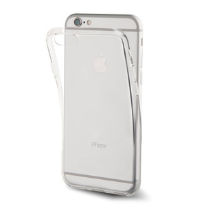 Coque crystal soft pour iPhone 7 Plus Transparent