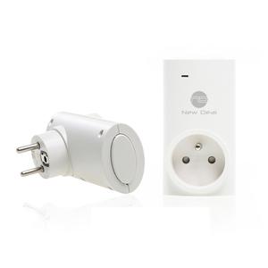 Prise connectée Wifi Smart Plug Eco+ Blanc