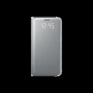 Etui folio Led View Cover Galaxy S7 Edge Argent