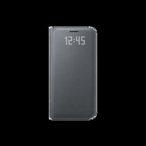Etui folio Led View Cover Galaxy S7 Edge Noir