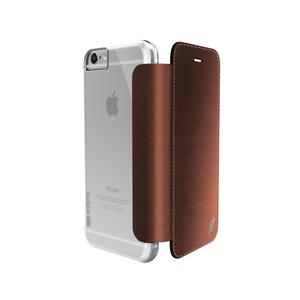 Etui folio Lux Engage pour Iphone 6+/6s+ cuir Marron