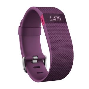 Bracelet d'activité et de suivi de la fréquence cardiaque Prune Taille L