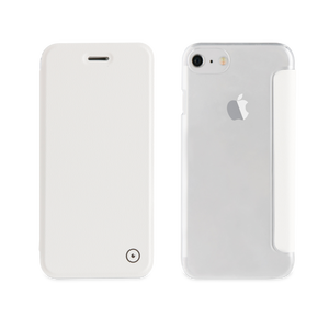 Etui folio case pour iPhone 7/6/6S Blanc