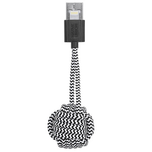 Porte-clés lightening Key Cable Zebra