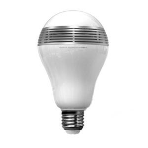 Ampoule connectée LED PlayBulb avec enceinte Bluetooth Argent