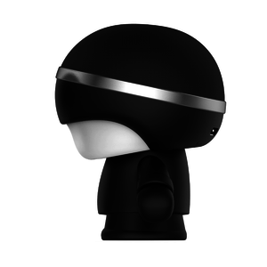 Enceinte nomade bluetooth Mini XBoy Noir
