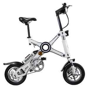 Vélo électrique Miniped Blanc