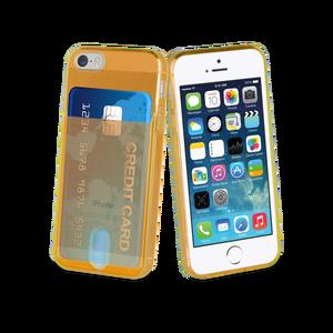 Coque PassPass pour Iphone 5/5S/SE Orange Fluo