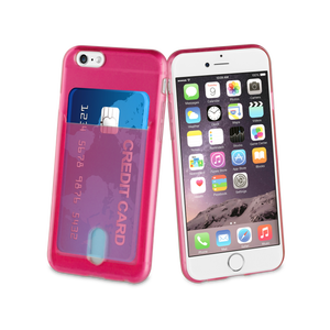 Coque PassPass pour Iphone 6/6S Rose Fluo