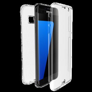 Coque Defense 360 pour Galaxy S7 Edge transparent