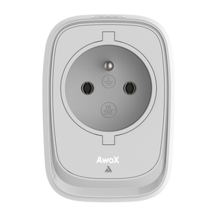 Prise connectée interrupteur et capteur de consommation Smartplug Blanc
