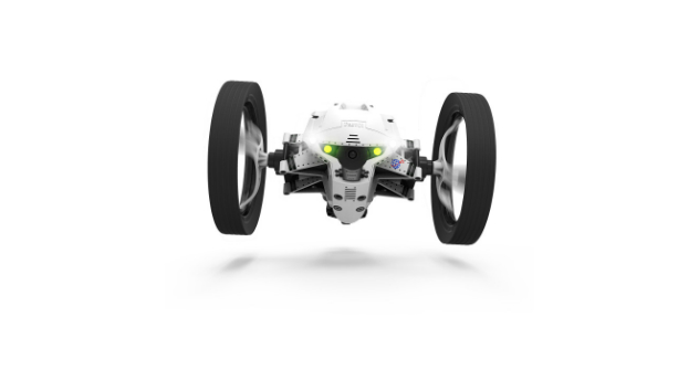 Drone Jumping Night Buzz