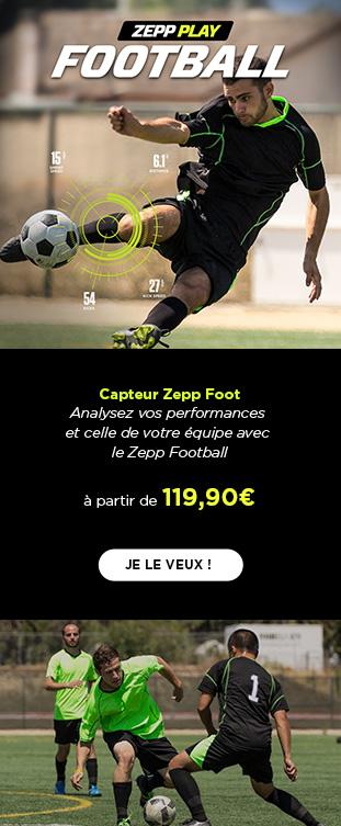 Capteur de Football Noir