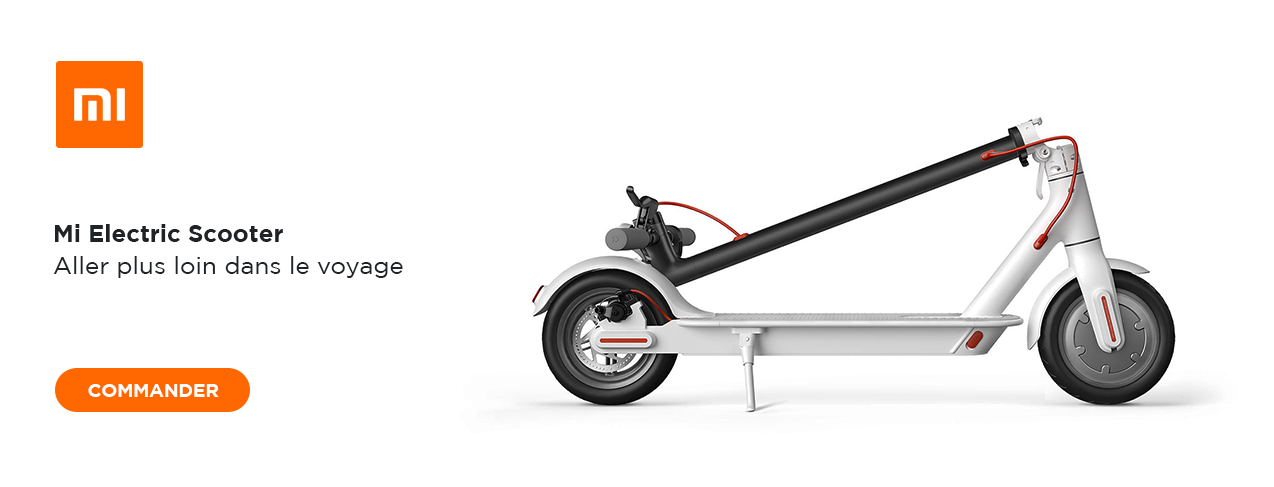 grande image XIAOMI MI Electric Scooter