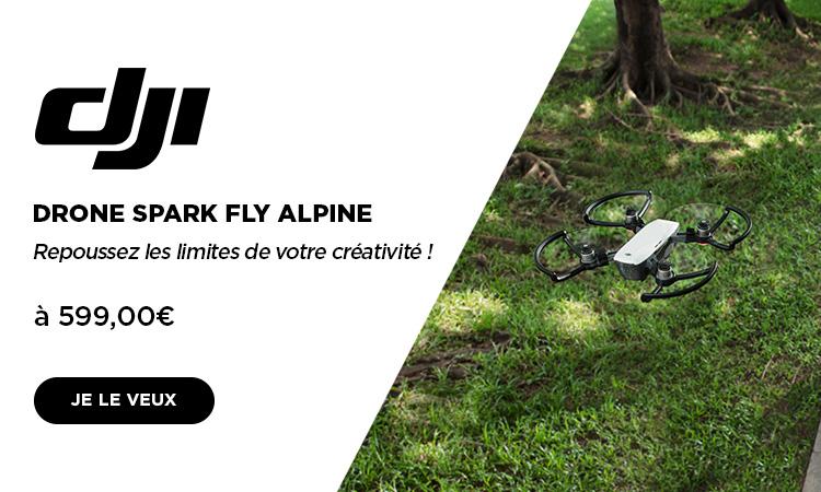 mobile Drone Spark Alpine Blanc