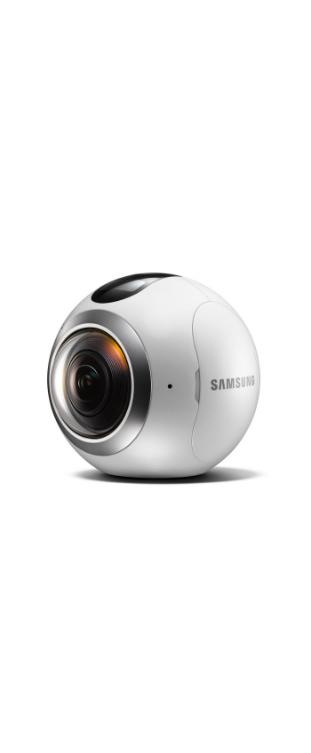 Camera Gear 360° Blanc