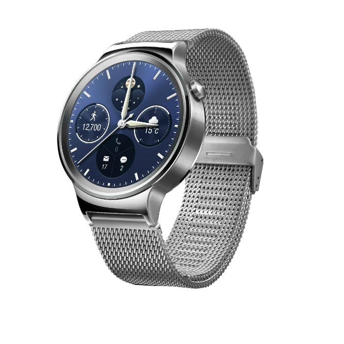 Montre connectée Huawei Watch Classic Silver Bracelet Milanais