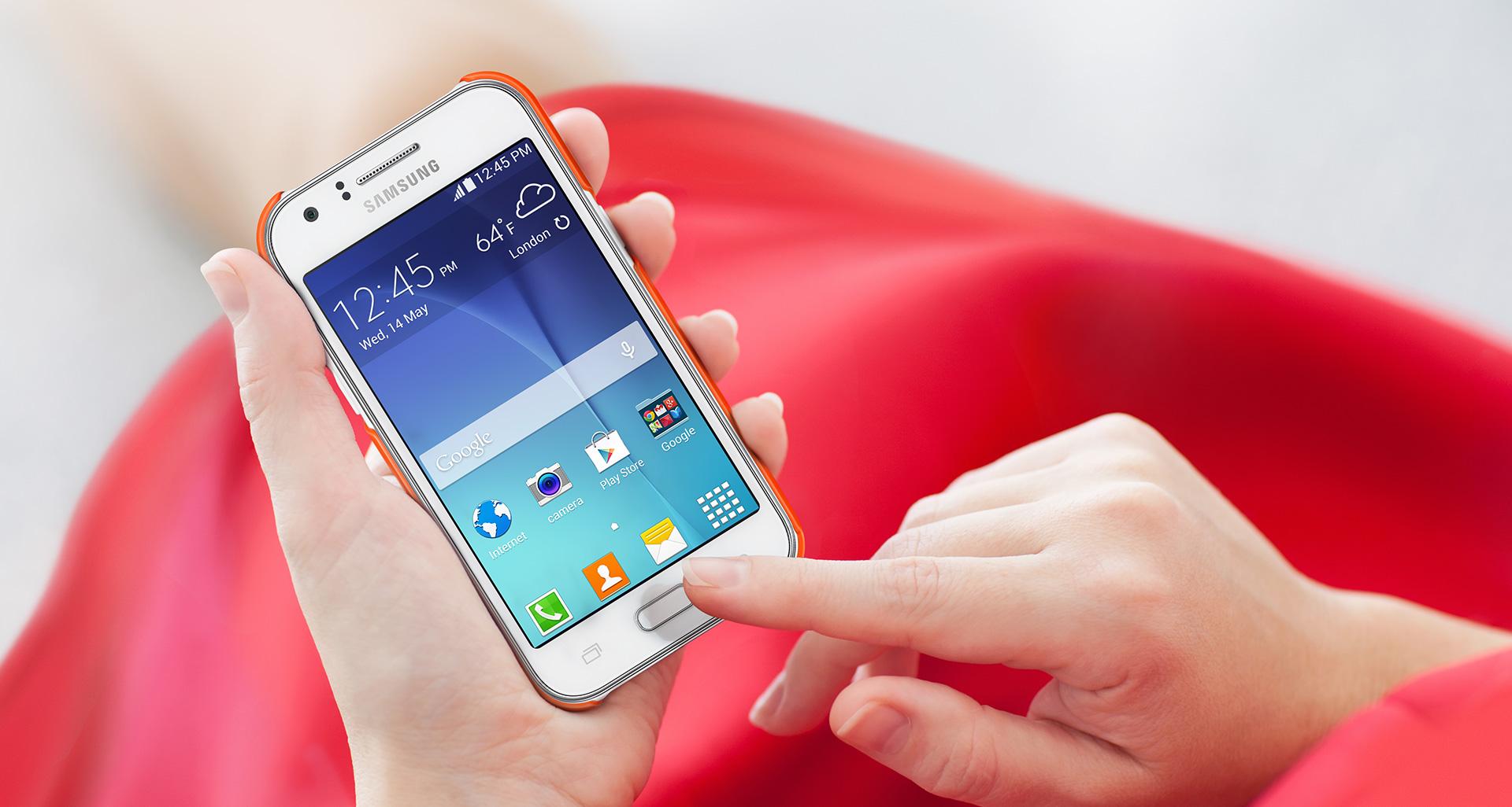 Coque Samsung pour Galaxy J1