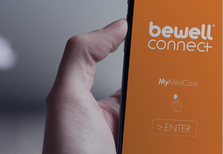 Camera connectee Myminicam de Bewell