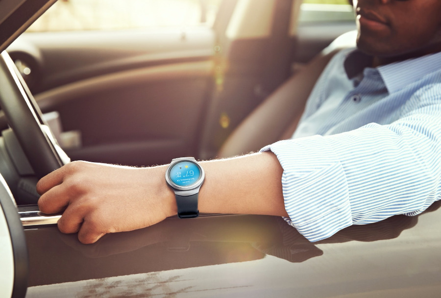 Montre connectee Samsung Gear S2