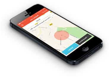 Collier GPS Weenect Pets avec alerte anti fugue